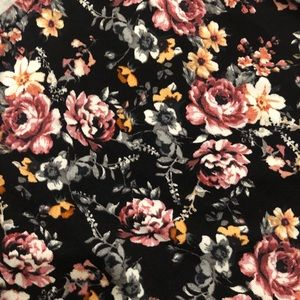 torrid Dresses - Torrid Floral Handkerchief Cut Dress